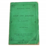 1863 Historical Gossip About Golf & Golfers by A Golfer 1st Edition George Robb - Seldom Seen