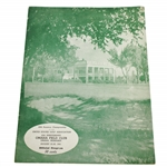 1941 US Amateur Championship at Omaha Field Club Program - Bud Ward Winner