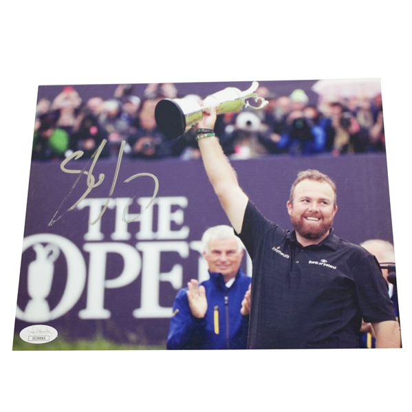 Shane Lowry Signed 2019 Open Champ at Royal Portrush 8x10 Photo JSA #EE39065