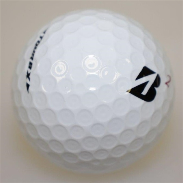 Nick Price Signed Bridgestone Logo Golf Ball JSA ALOA