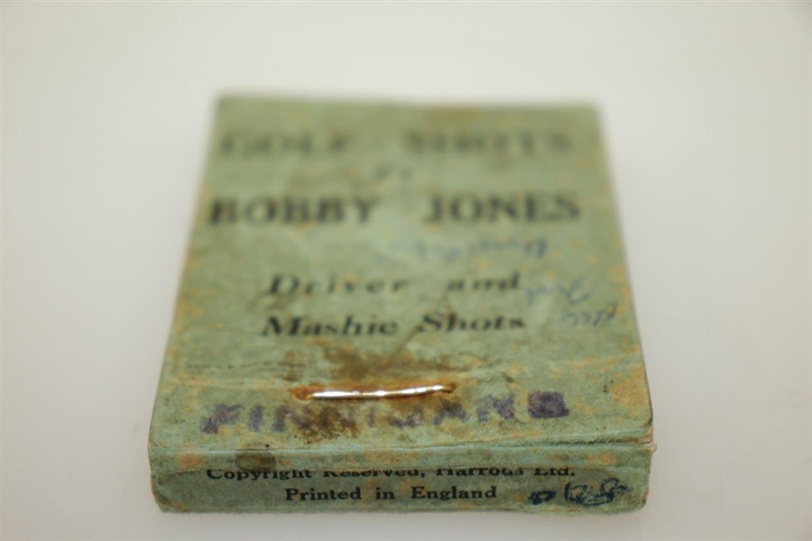 'Golf Shots' by Bobby Jones Flicker Book - Driver and Mashie Shots