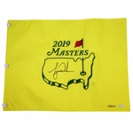 Tiger Woods Signed 2019 Masters Embroidered Flag Limited Ed UDA #BAM164464