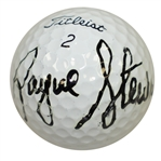 Payne Stewart Signed Titleist Logo Ball JSA FULL #BB12461