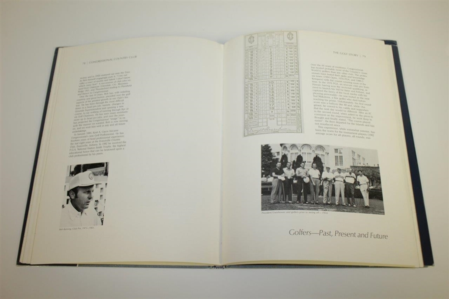 Congressional CC History 1924 to 1984 Signed by Sonny Jurgensen, Jim Furyk & Others JSA ALOA