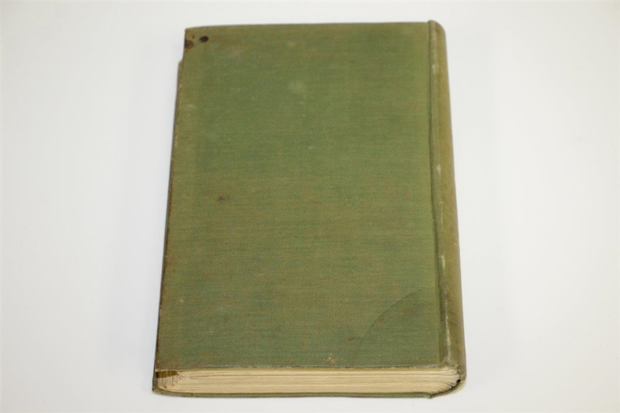1898 The Golfing Pilgrim on Many Links by Horace G Hutchinson 1st Ed