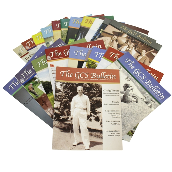 The GCS Bulletin Issues Published by Golf Collectors Society Collection 2009 - 2013