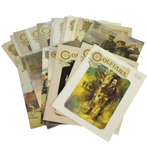 (23) Golfiana Issues Published by Golf Collectors Society Collection 1987 - 1994