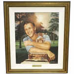"Arnold Palmer Signed Ltd Ed ""Return of the King"" by Artist Mike Heslop #5/17 JSA ALOA"