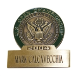Mark Calcavecchias 2004 US Open at Shinnecock Hills Contestant Badge