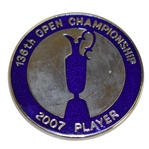 Mark Calcavecchias 2007 OPEN Championship at Carnoustie Contestant Badge