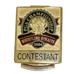 Mark Calcavecchias 2004 PGA Championship at Whistling Straits Contestant Money Clip