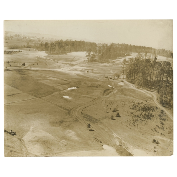 Early 1930's Augusta National Golf Club Original Photo of 8th Green