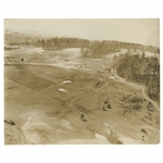 Early 1930s Augusta National Golf Club Original Photo of 8th Green