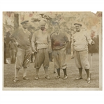 Early 1930s Augusta National Golf Club Type 1 Original Photo of Bobby Jones & Others