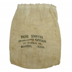 "Vintage ""Bob Smith Sporting Goods"" Canvas Tee Bag with Tees - Boston - Crist Collection"
