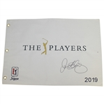 Rory McIlroy Signed 2019 Players Embroidered Flag JSA ALOA