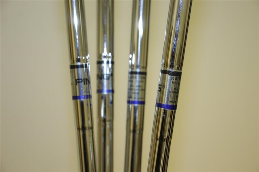 Unused Full Set of PING Eye 2 Irons & Woods - ZZ Lite Shafts - Mint Condition