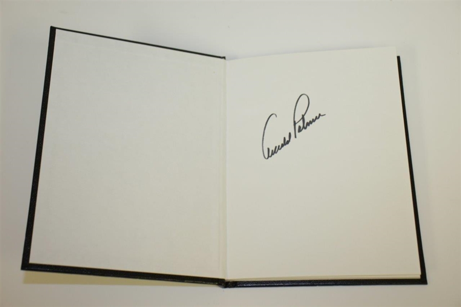 Arnold Palmer Signed 1954 US Amateur 50th Anniversary 'Turning Point' Book JSA ALOA