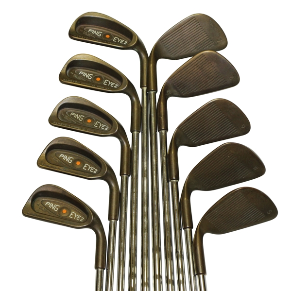 PING Eye-2 Orange Dot BeCu Set of Irons - 2-SW