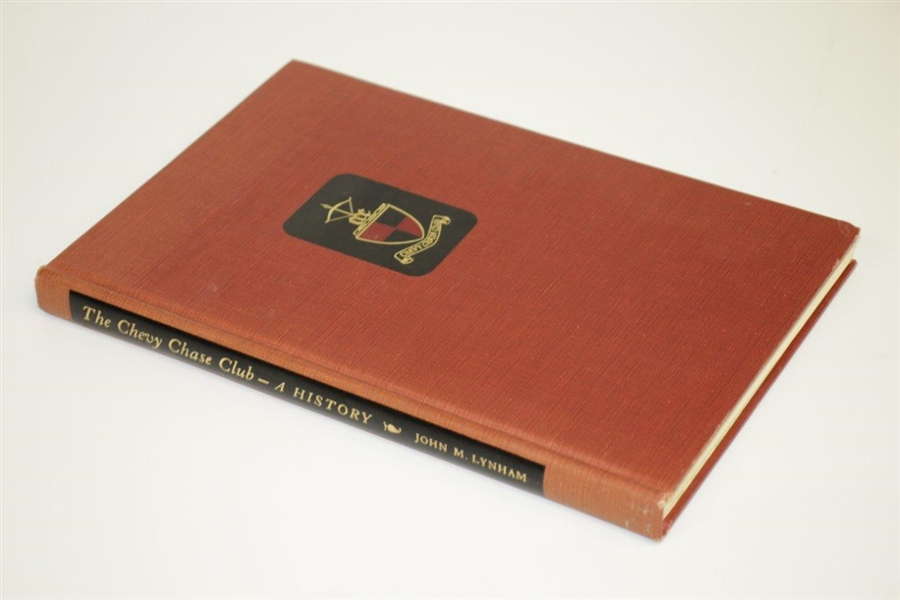 1958 'Chevy Chase Club - A History: 1885-1957' Book by John M. Lynham