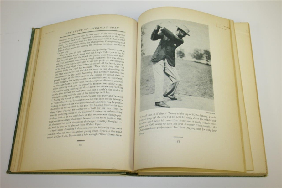 1948 'The Story of American Golf' Book by Herbert Warren Wind - 1st Edition