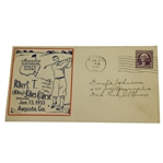 "1933 Augusta National GC ""Bobby Jones Golf Course"" Opening Day Cover"