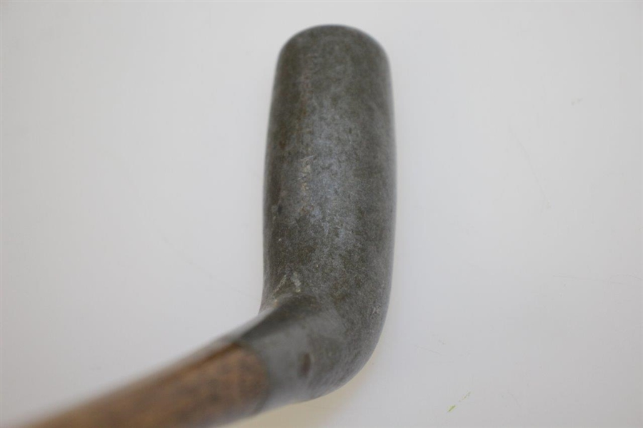 Circa 1920 Fulford Patent 'Pambo' Duplex Putter with Cylindrical Aluminum Head