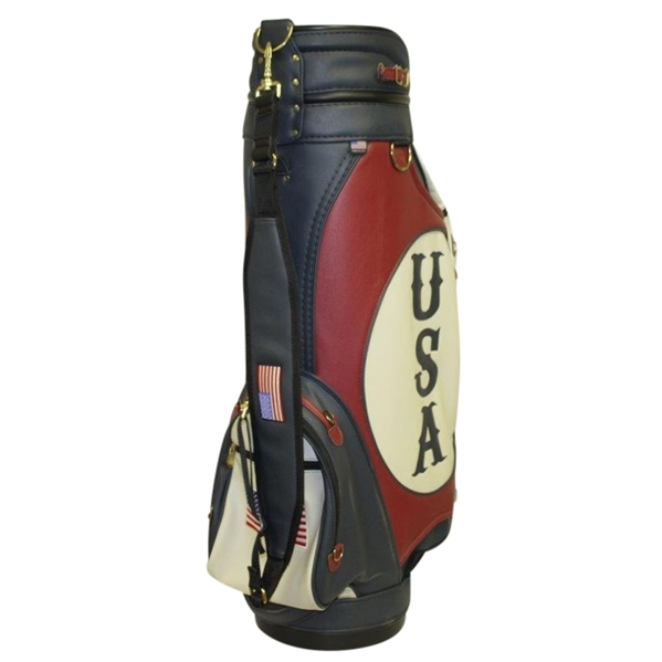 2010 US Ryder Cup Golf Bag With Embroidered Team Names - Unused Condition