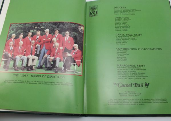 1987 Medinah Country Club The Camel Trail Member Book