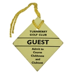 Turnberry Golf Club Guest Admit to Course, Clubhouse, & Clubtent Ticket #501 - Undated - Deane Beman Collection