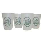 2007 Masters Logo Reusable Cups - Four