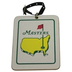 1994 Masters Rectangular Bag Tag Logo on Front & List of Champions Through 1993 on Reverse