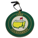 1996 Masters Rectangular Bag Tag Logo on Front & List of Champions Through 1995 on Reverse