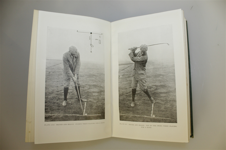 1924 'The Complete Golfer' by Harry Vardon Golf Book - Good Condition