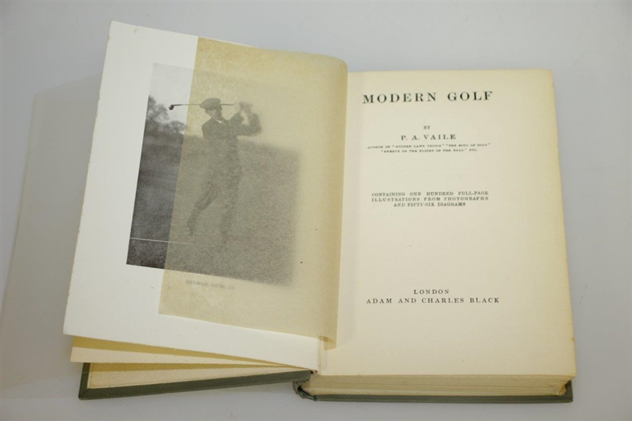 1914 'Modern Golf' Book by Pembroke A. Vaile