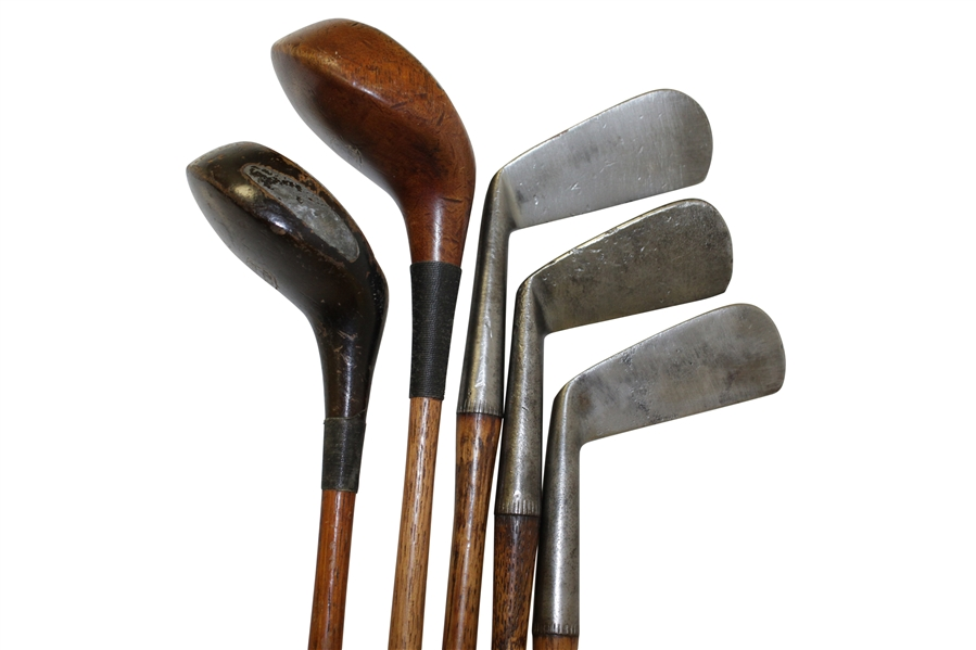 Burke Juvenile Irons & Wood Set in Matching Plaid Bag