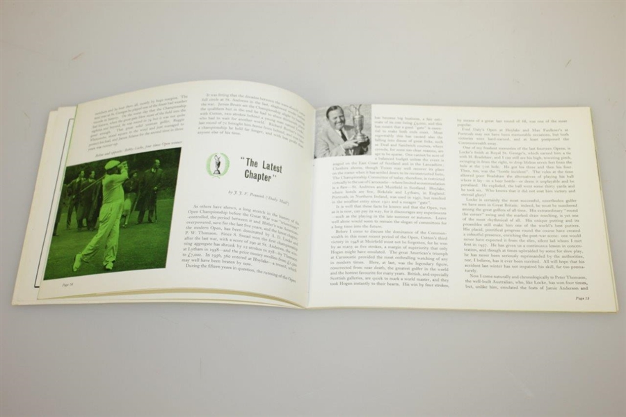 'A Century of Golf 1860 to 1960' Open Championship Souvenir Book