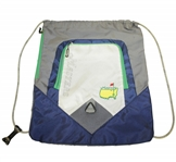Masters Tournament Blue/Grey/Green Backpack/Cinch Bag