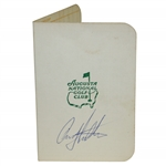 Craig Stadler Signed Vintage Augusta National Golf Club Scorecard JSA ALOA