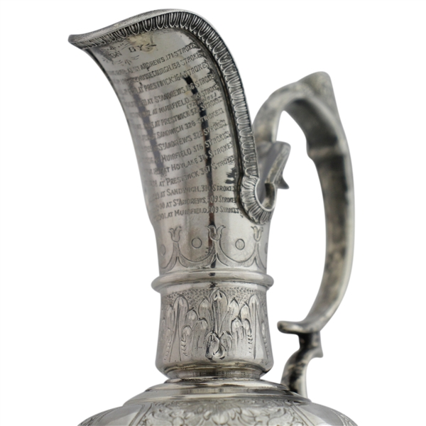 Mark Calcavecchia's 1989 Open Championship Player Claret Jug