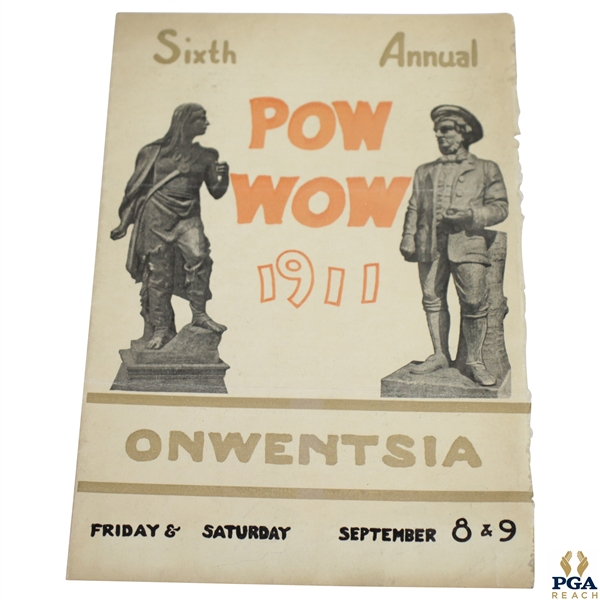 1911 Pow Wow at Owentsia Golf Program - 6th Annual - September 8th & 9th