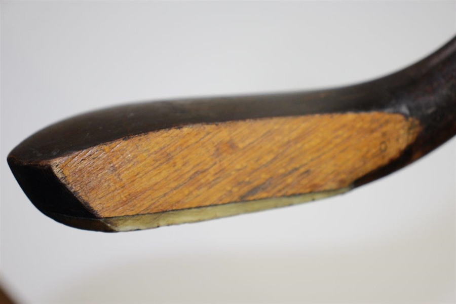 J. Anderson Long Nose Wood Shafted Play Club - Anderson Stamped In Head