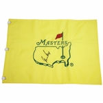 Gary Player Signed Masters Undated Embroidered Flag JSA ALOA