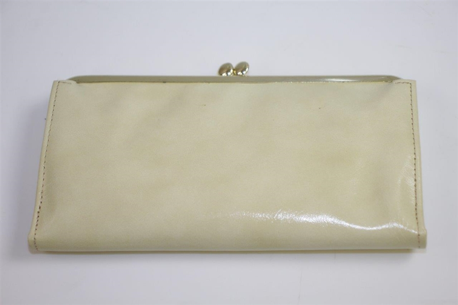 1960 Masters Tournaments Leather Coin Purse Gift in Original Lady Buxton Box - Palmer Winner