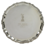 Mark Calcavecchias 2011 Senior OPEN Championship Sterling Silver Runner-Up Salver in Case
