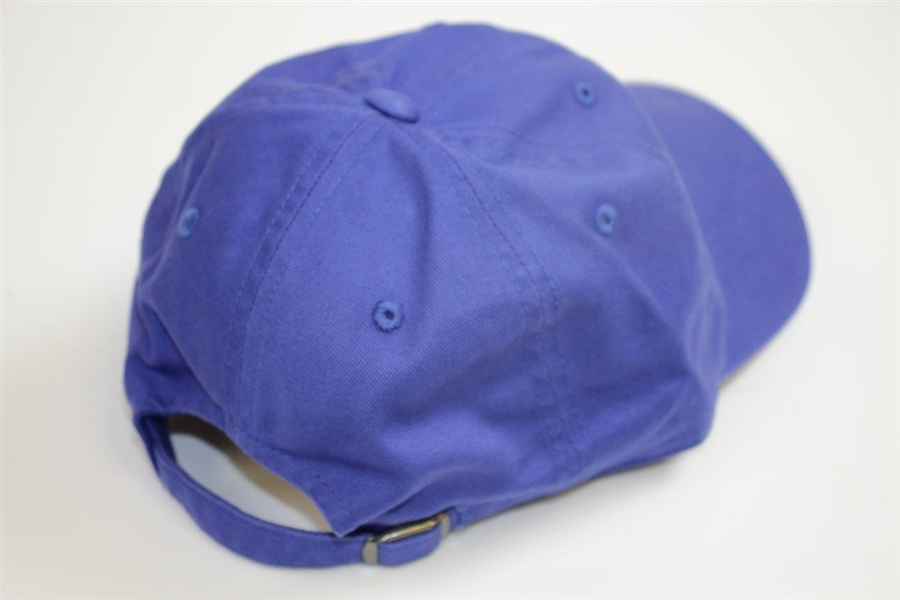 New Unused Augusta National Golf Club  Blue Caddy Hat Made by American Needle