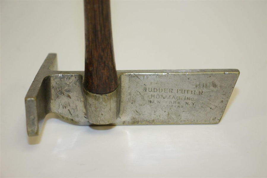 Rare Circa 1923 Holmac Rudder Putter with Oversized T-Shaped Head - One of 5 Known