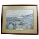 Harbour Town Golf Links The Last Hole Ltd Ed 40/950 by Artist Donald Vorhees - Framed