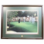 "Lee Trevino Signed Official 1984 PGA Championship Lithograph ""Turning Point"" AP 63/90 JSA ALOA"
