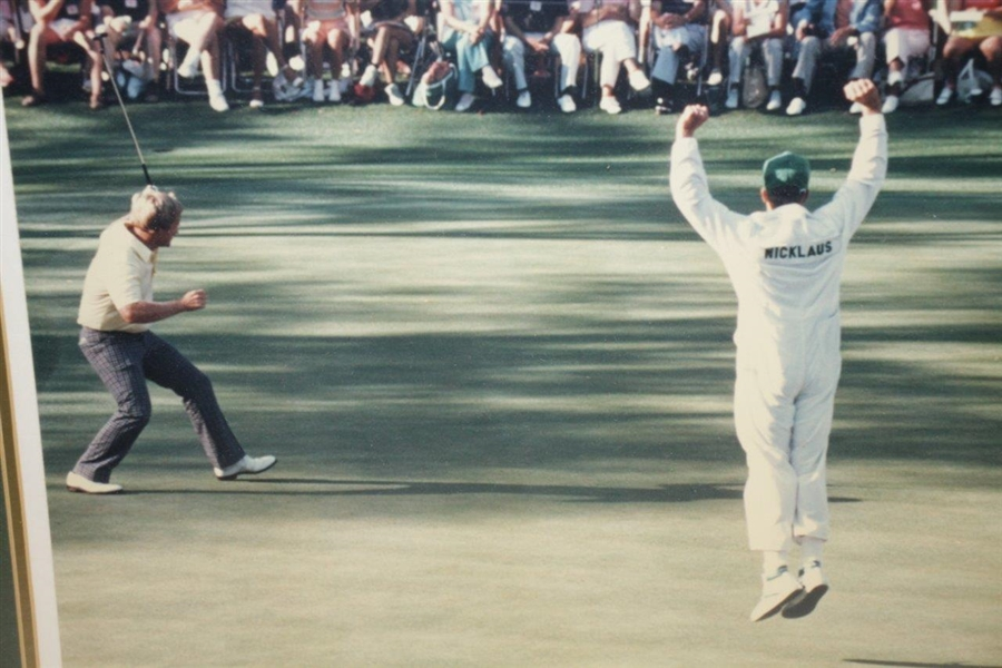 Eagle Jack Nicklaus Winner 1986 Masters Celebrity Edition Photograph by Brian Morgan
